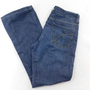 Eddie Bauer Flannel Lined Classic Jeans Size 2